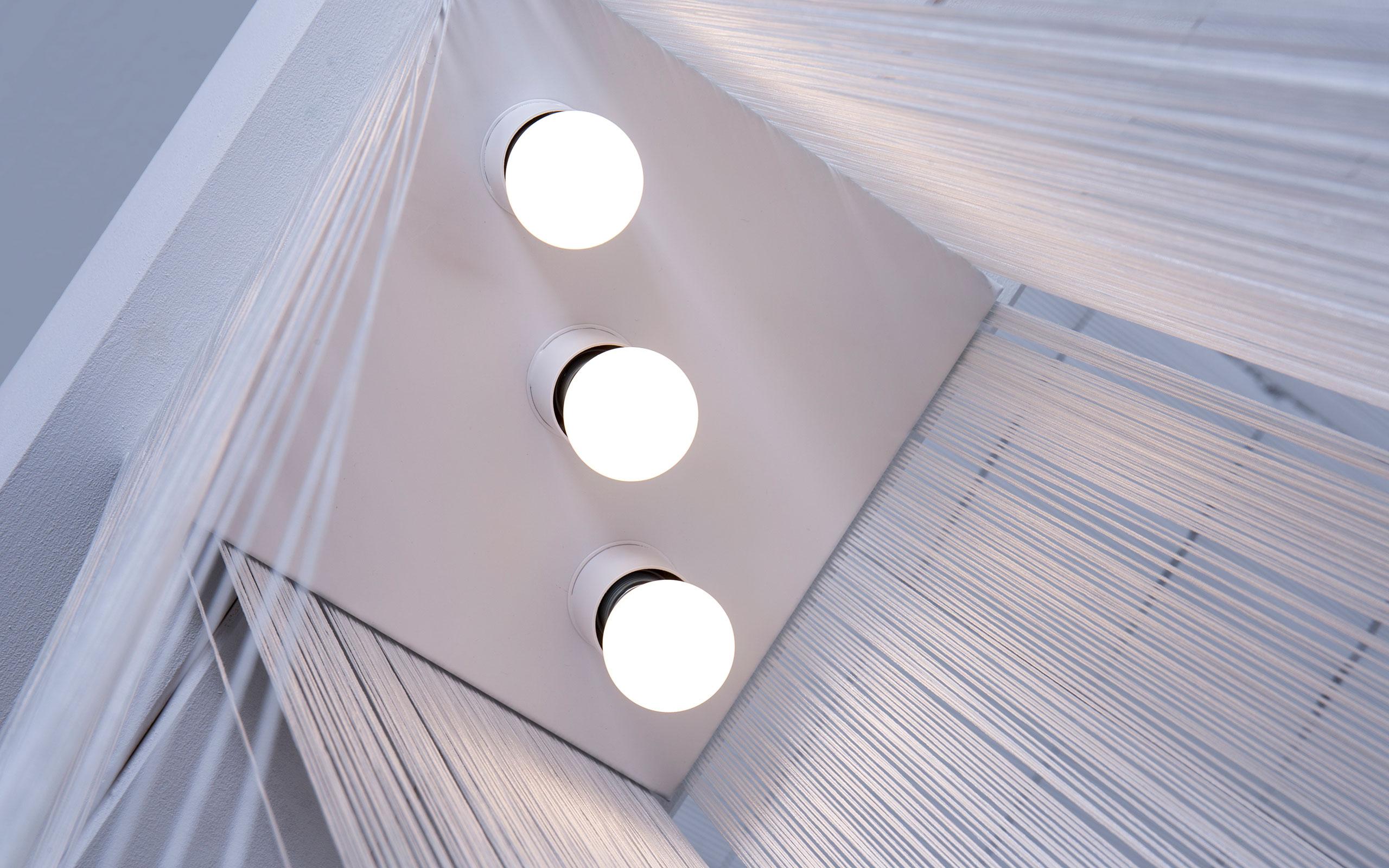 Garbo Q ceiling lamp by Mariyo Yagi | Paradisoterrestre