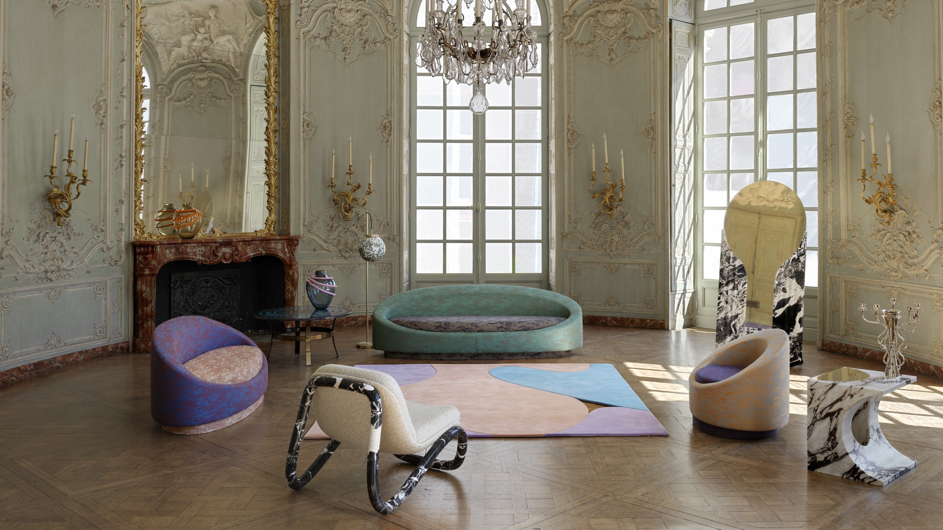 All Around and See Through by Pierre Gonalons at Paris Design Week 2020