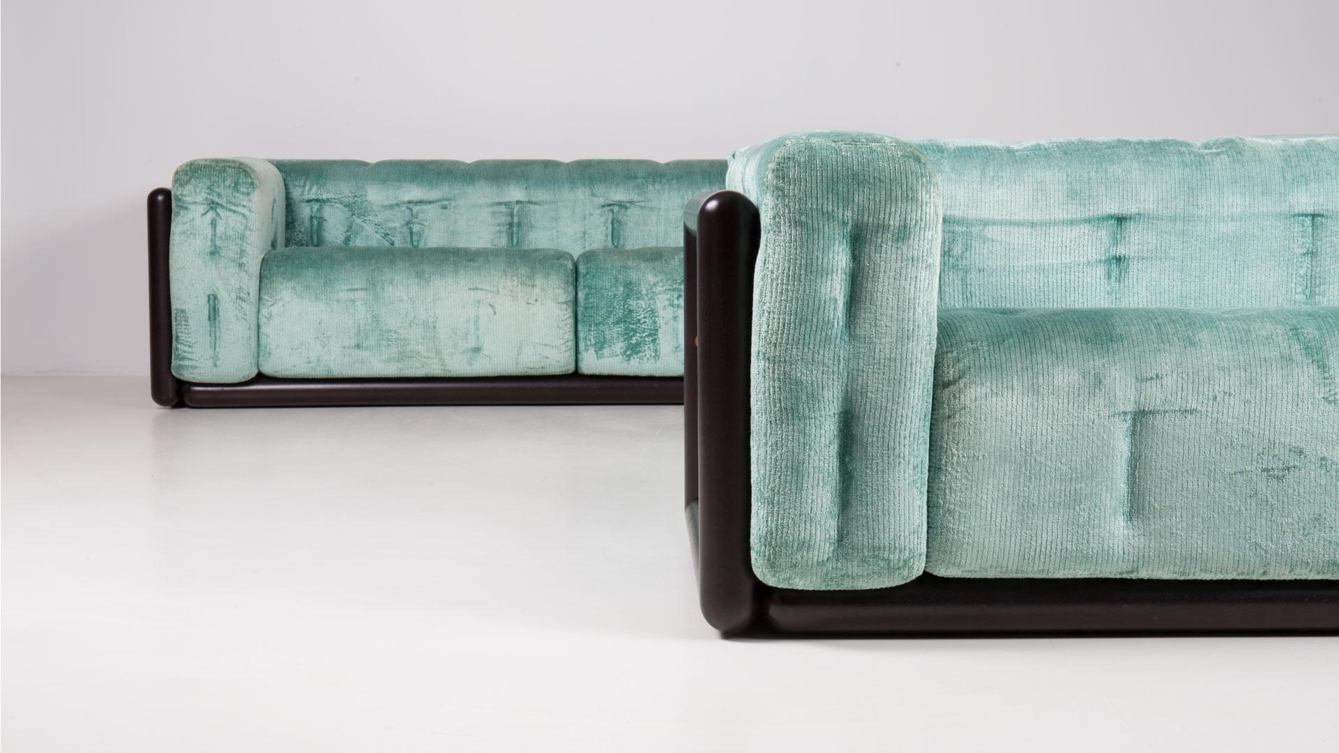 Cornaro 220 sofa by Carlo Scarpa | Paradisoterrestre