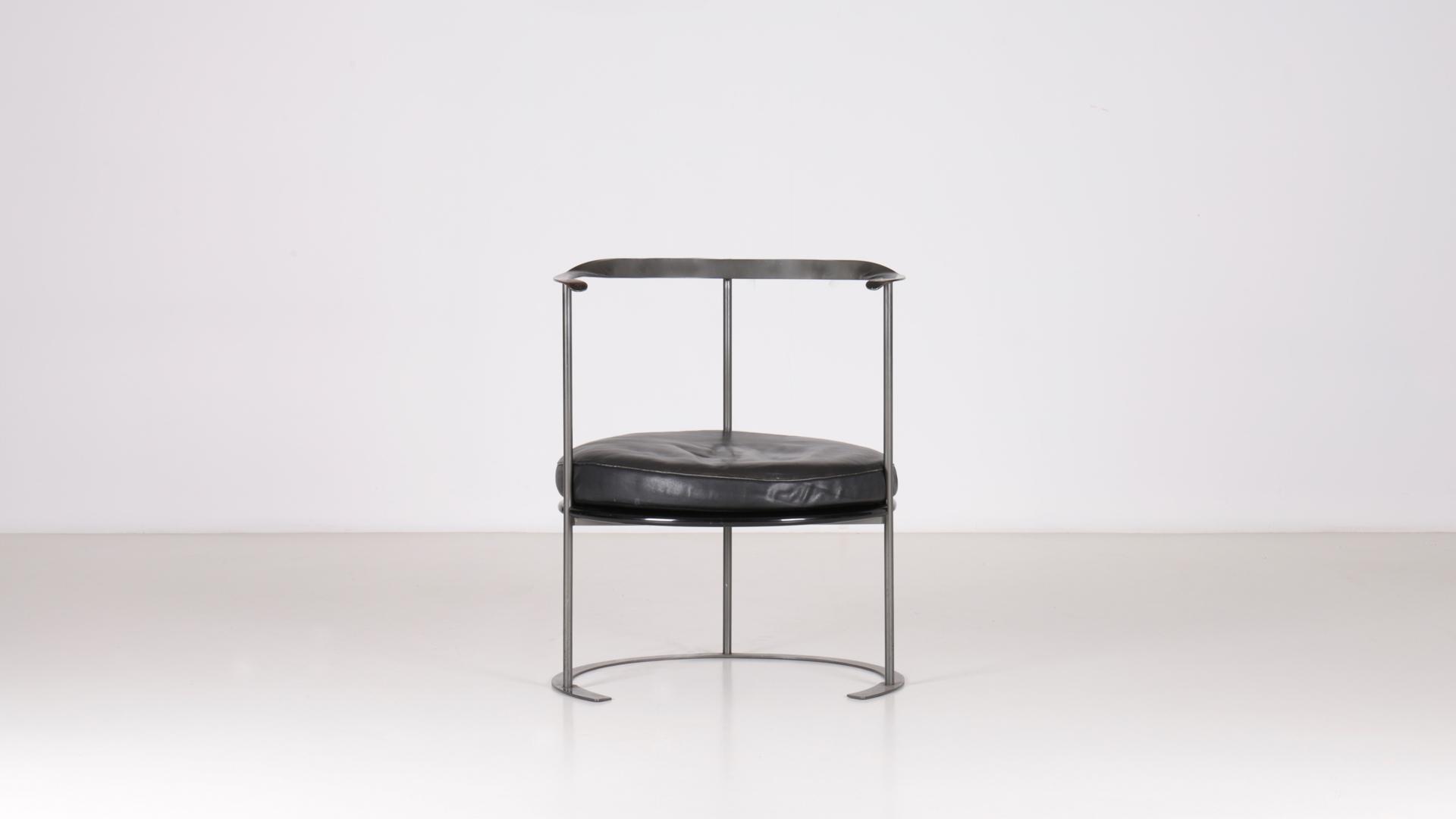 Catilina chair by Luigi Caccia Dominioni | Paradisoterrestre