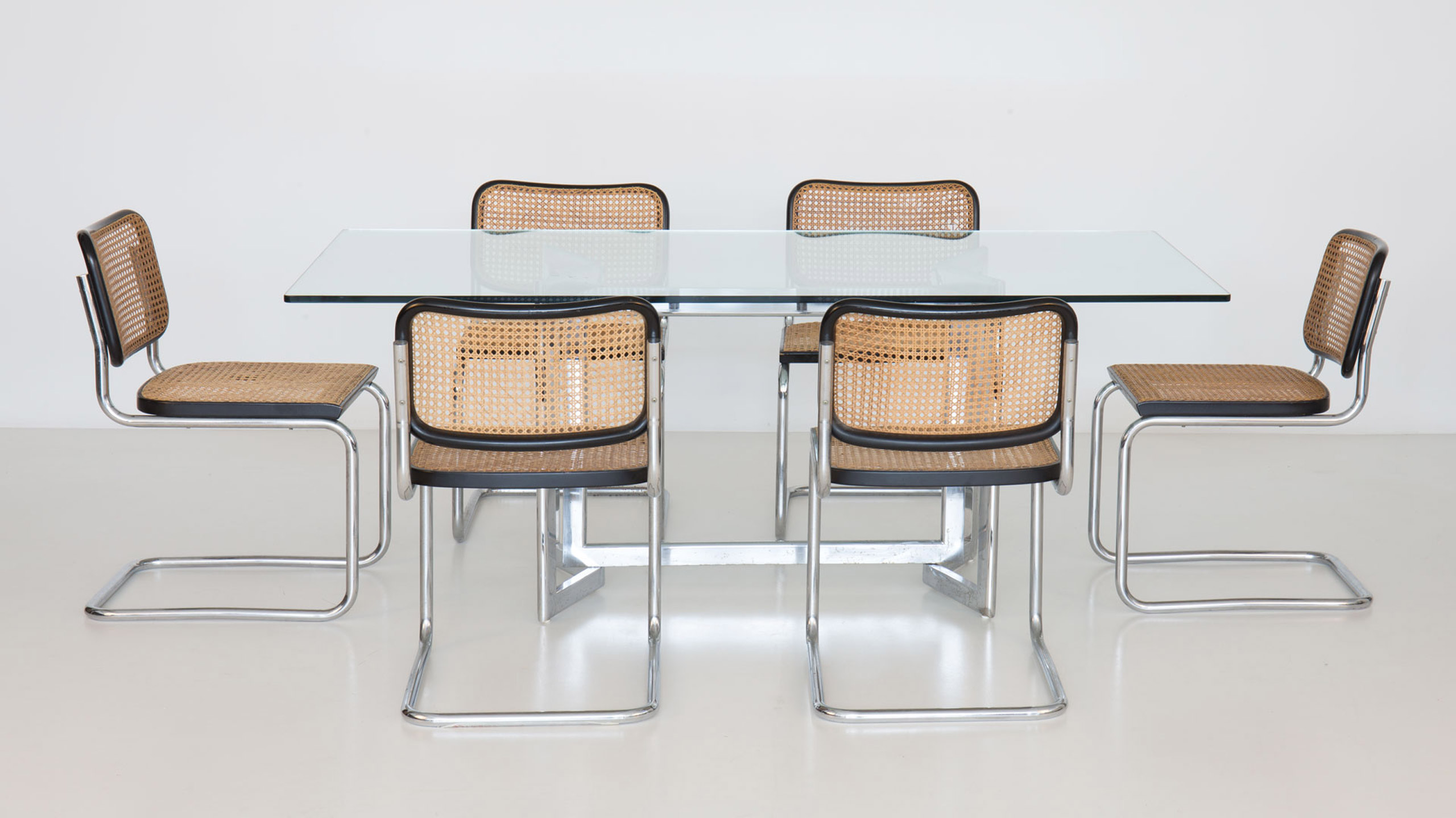 Set Of 6 Cesca Chairs By Marcel Breuer Paradisoterrestre
