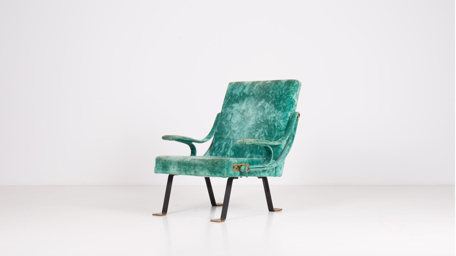 Digamma armchair by Ignazio Gardella | Paradisoterrestre