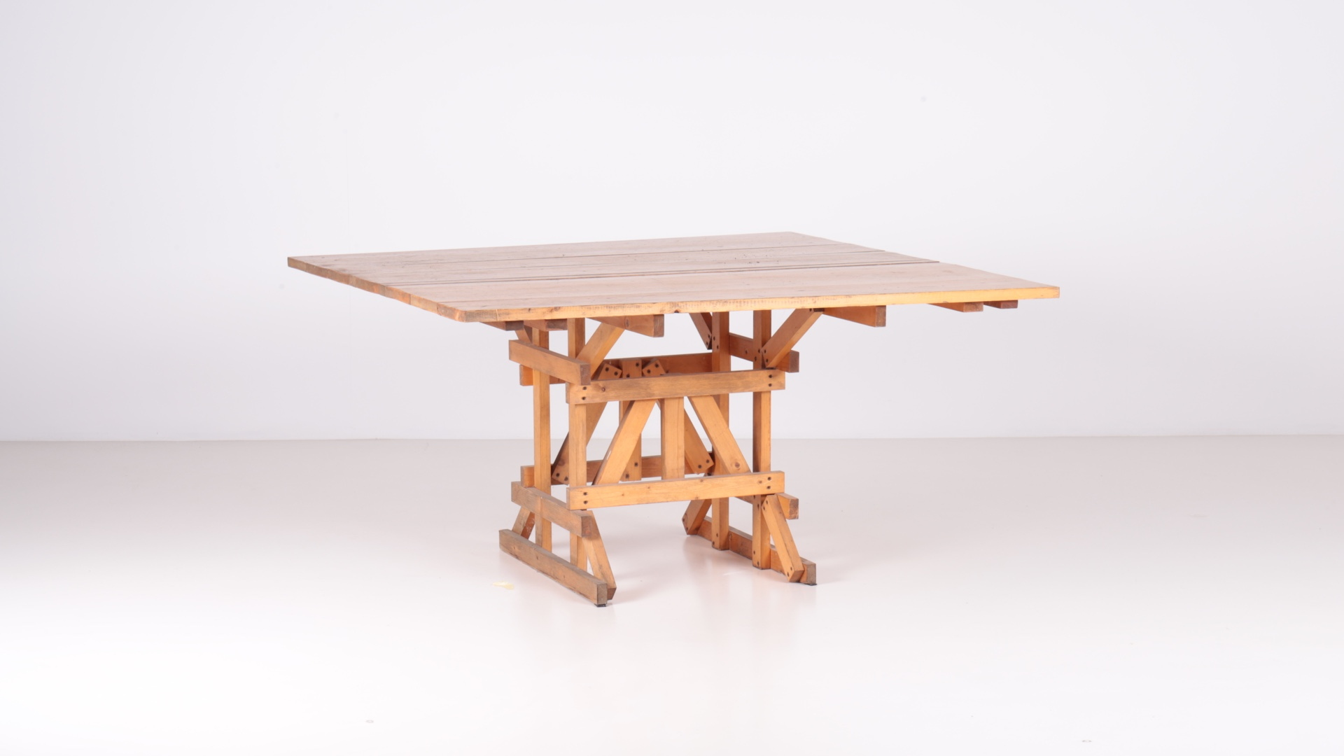 Ics table by Enzo Mari | Paradisoterrestre
