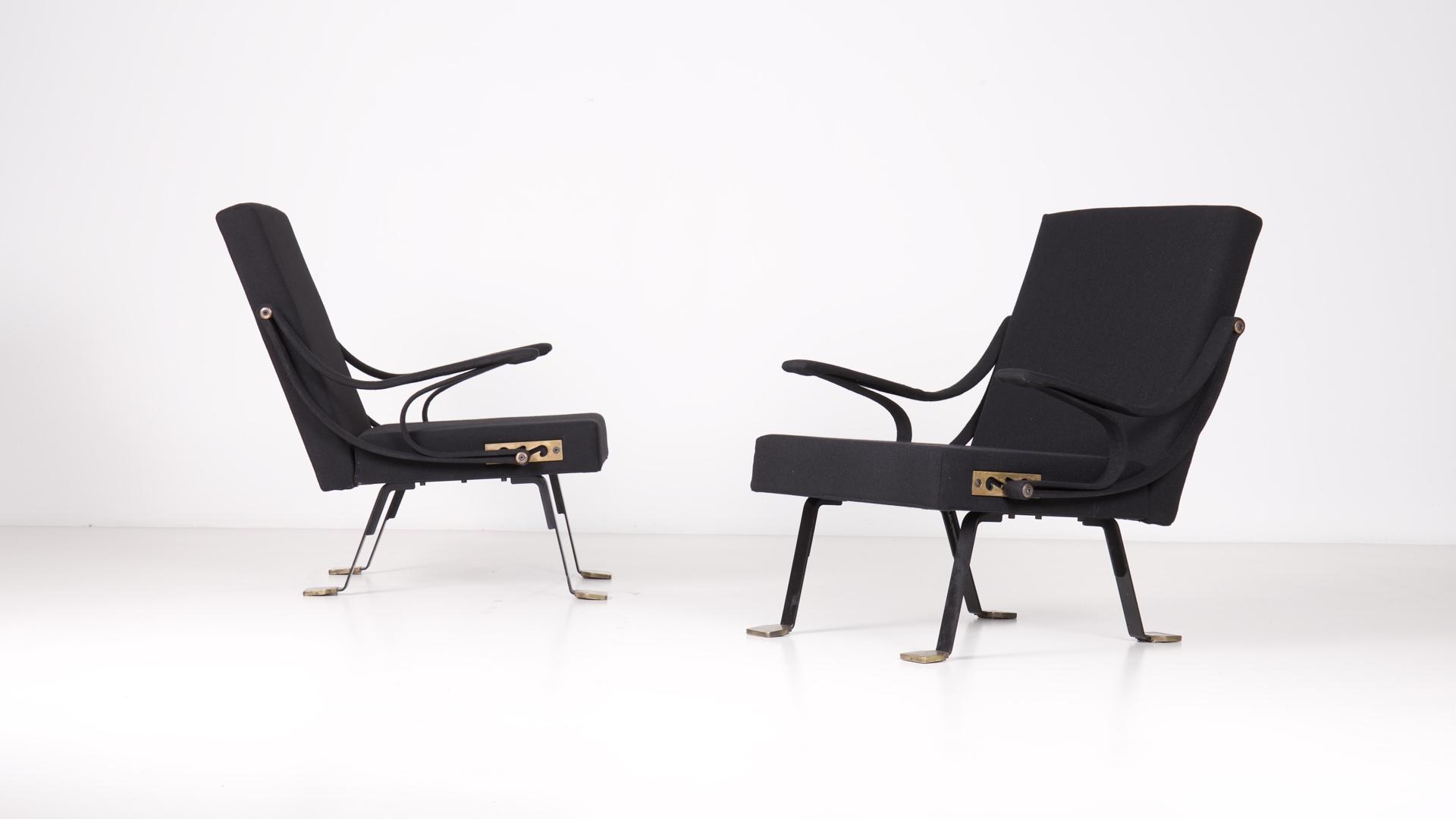 Digamma armchairs by Ignazio Gardella | Paradisoterrestre