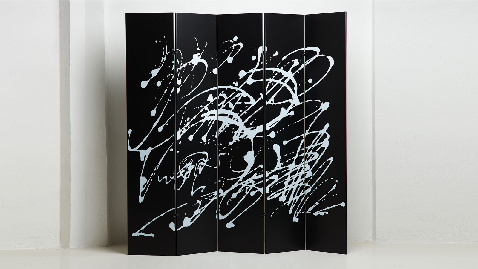 Jackson Pollock screen by Gavina and Takahama | Paradisoterrestre