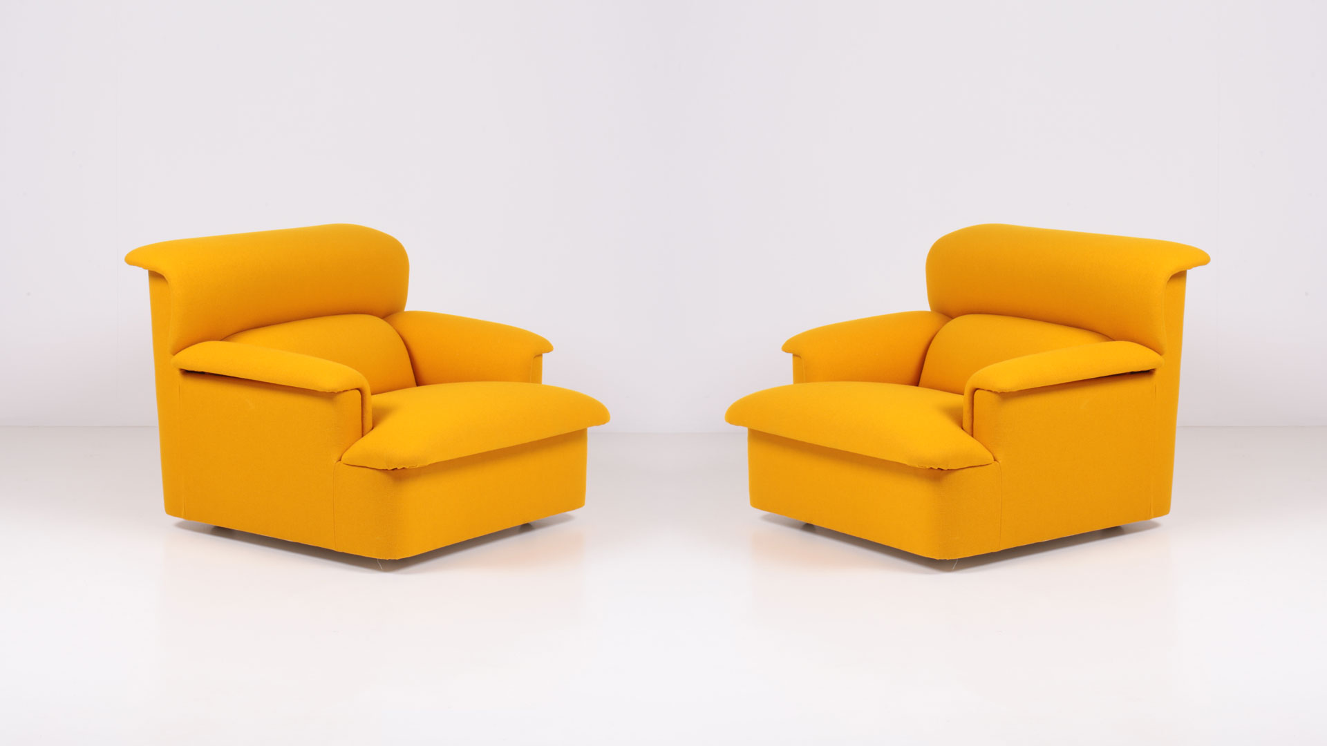 Navona armchairs by Achille and Pier Giacomo Castiglioni | Paradisoterrestre