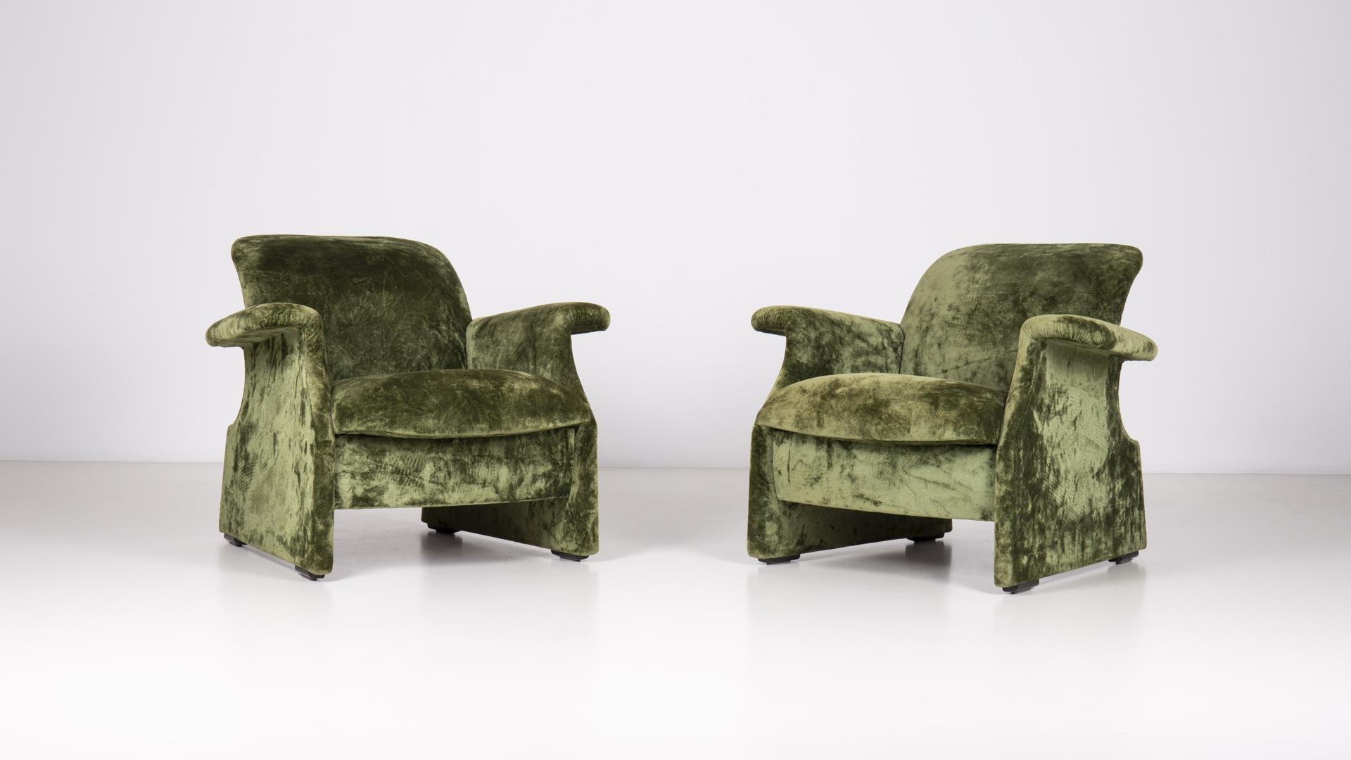 Sforzesca armchairs by Ufficio Progetti Gavina | Paradisoterrestre