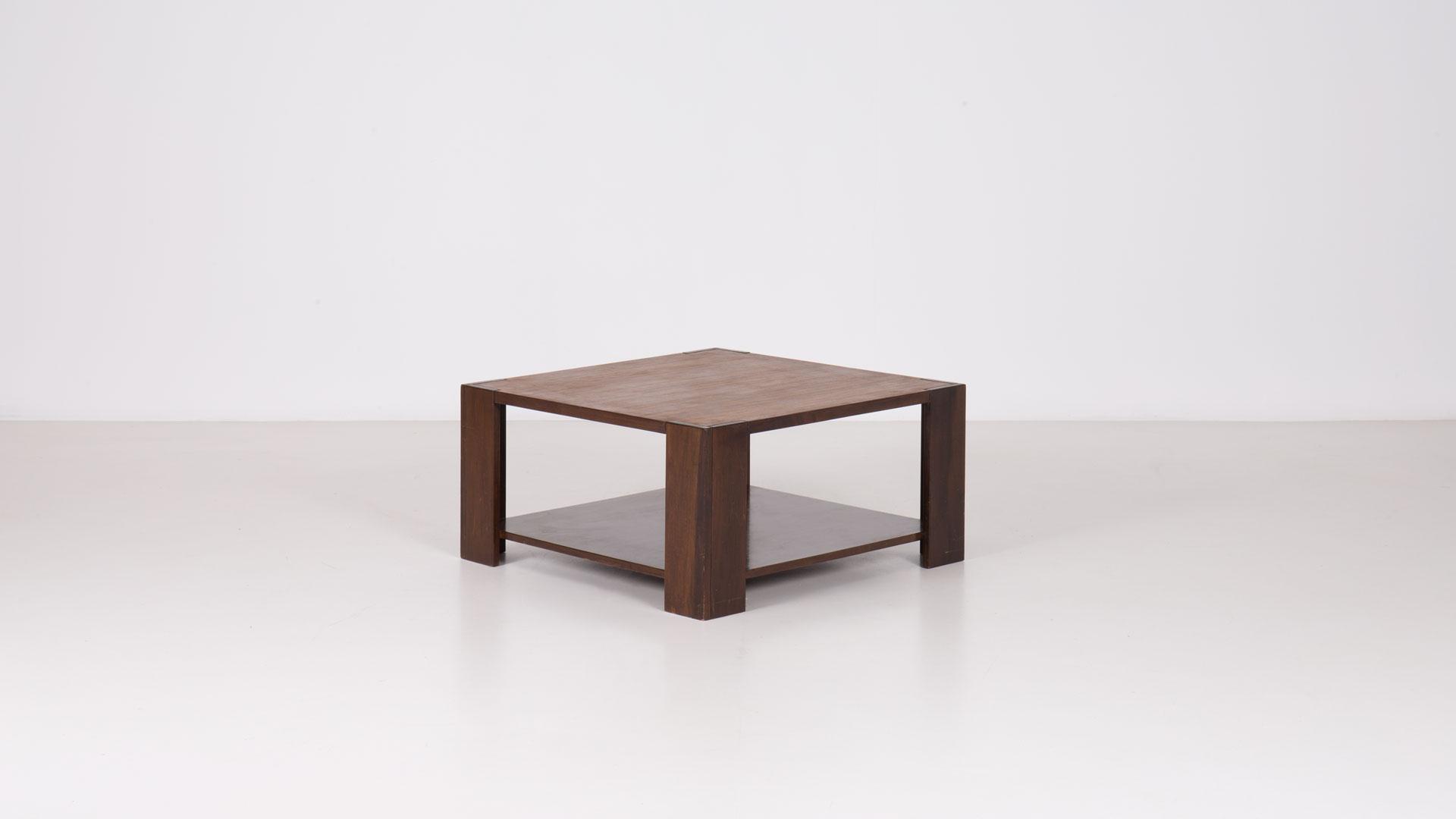 Bastiano low table by Tobia Scarpa | Paradisoterrestre