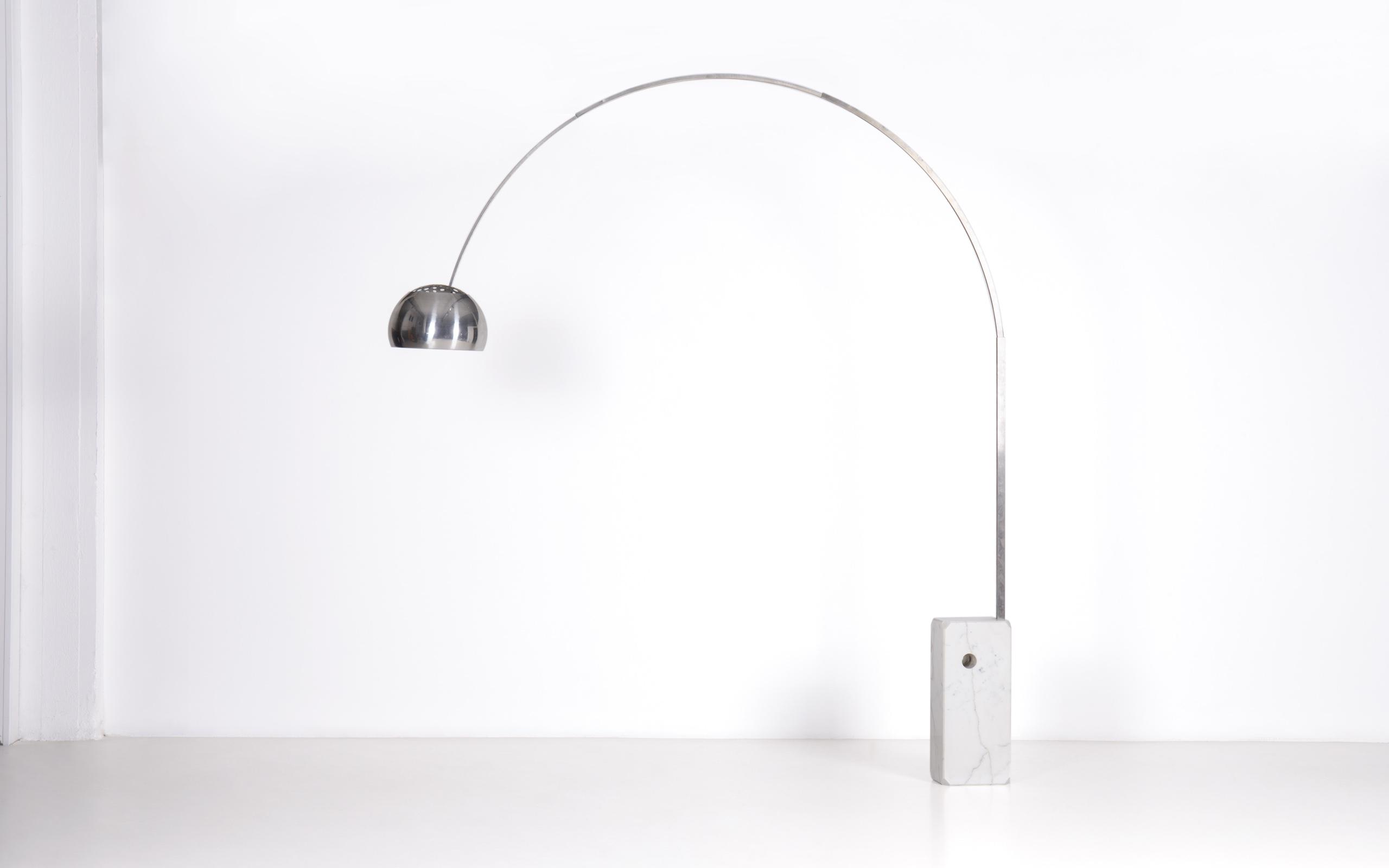 Arco lamp by Achille & Pier Giacomo Castiglioni | Paradisoterrestre