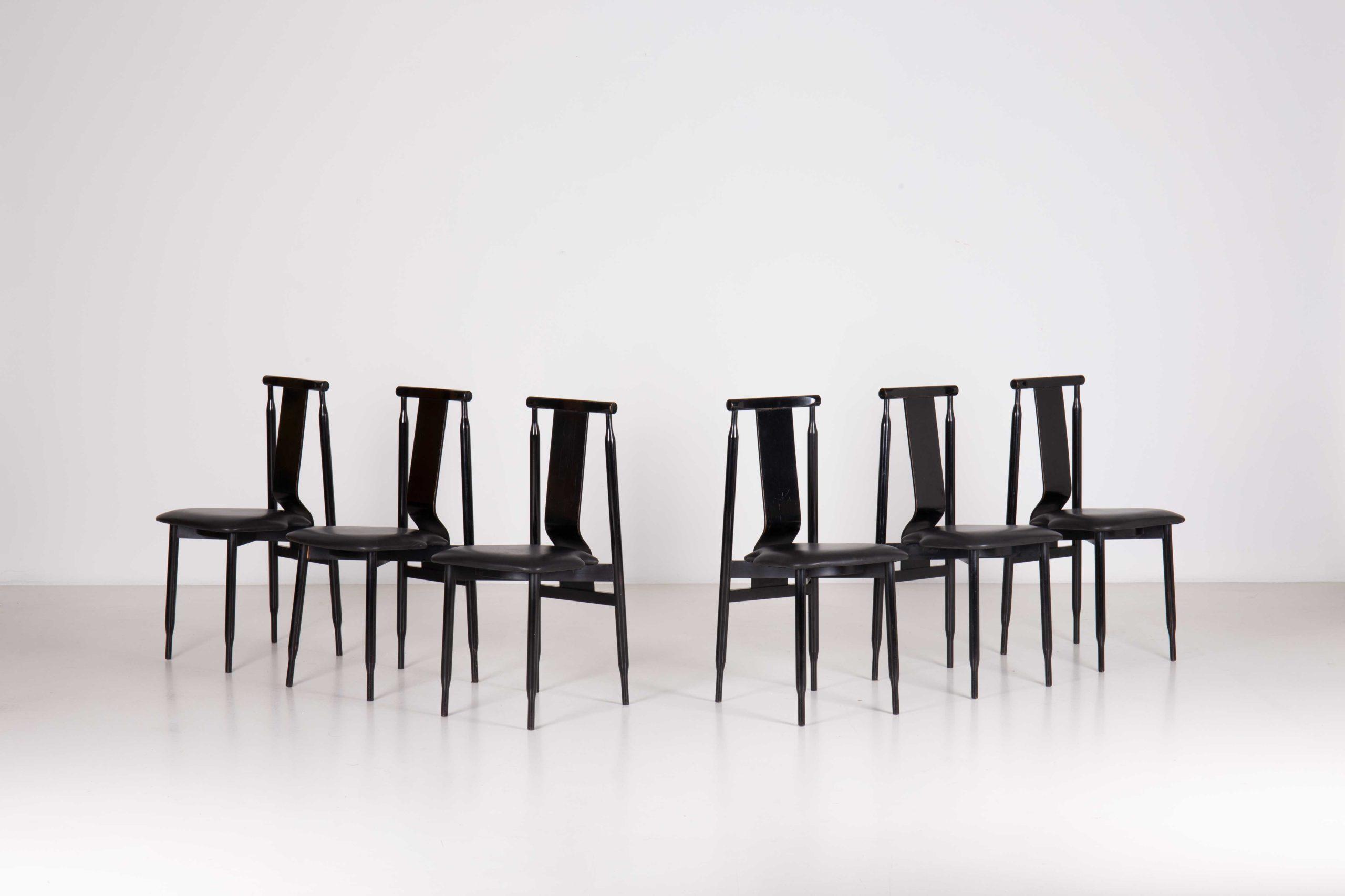 Lierna chairs by Achille & Pier Giacomo Castiglioni | Paradisoterrestre